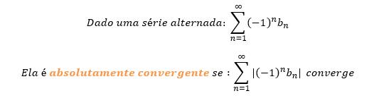 Critério de convergência absoluta