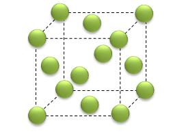 Celula cúbica de face centrada