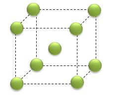 Célula cúbica de corpo centrado