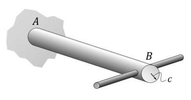 Barra retilínea que será usada como exemplo