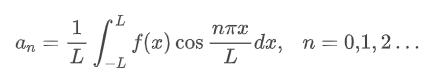Expressão para o cálculo de